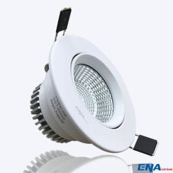 Đèn LED Downlight chỉnh hướng 12W mẫu DCA