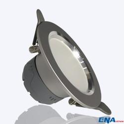 Đèn LED âm trần Downlight 7W-3 chế độ mẫu DTG vỏ xám viền bạc